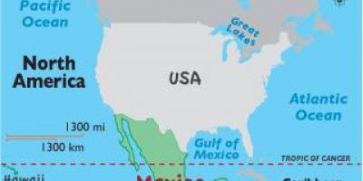 mexiko semester karta mexico karta semester central amerika nord och sydamerika